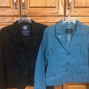 Two American Eagle Spring Blazers